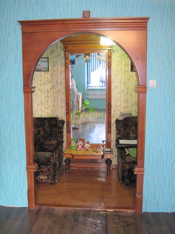 Деревянные двери и арки на заказ